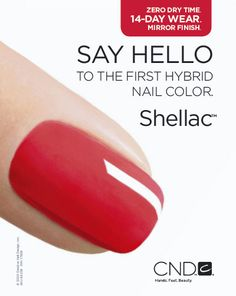 Need to try this! How has it taken CND so long to come up with such a great product?  Goes on like a polish and wears like a gel.  We love it!  Easy to apply and gives a fantastic glossy finish for up to 2 weeks.  I won't wear anything else!  Check out our hot pink and coral colours, great for summer. Think hassel free nails for your Summer hols!