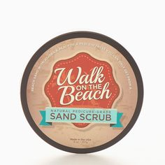 Walk on the Beach Sand Foot Scrub | Perfectly Posh | Scrub your feet with beach sand and sea salt while you nourish with açai and jojoba. Feel the sand between your toes and let it slough away dry skin and rough spots, leaving you with the softest feet. It's a perfect pedicure that you can only get from a Walk on the Beach.
