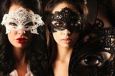 2 Lace Masks - 2 Colours!