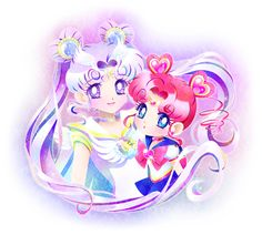 Sailor Cosmos & Sailor Chibi Chibi