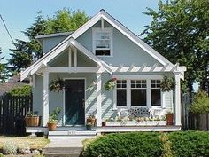 front entrance portico design cottage style - Google Search