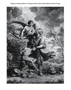 Abraham in the Bowyer Bible 107. Abraham sacrifices Isaac. Audran. Medhurst-Kossuth-Vere on Flickr.Abraham in the Bowyer Bible 107. Abraham sacrifices Isaac. Audran. Medhurst-Kossuth-Vere
