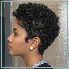 Curly Hair Tips, Black Curly Hair, Curly Hair Styles, Natural Hair Styles, 3a Hair, Long Hair, Short Natural Haircuts, Short Hairstyles For Women, Hairstyle Short