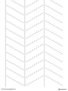 **FREE** Line Tracing: Diagonal Lines Worksheet.Tracing lines reinforces fine motor skills in your child and prepares them for writing.