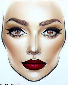 trendy makeup face charts tutorials make up trendy makeup face charts tutorials make upYou can find Mac face charts and more on our . Mac Makeup Looks, Best Mac Makeup, Best Makeup Products, Beauty Products, Makeup Goals, Makeup Inspo, Makeup Inspiration, Beauty Makeup, Makeup Ideas