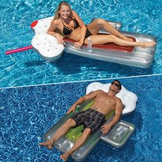 Swimline BeerMug and RootBeer 2-Pack Inflatable
