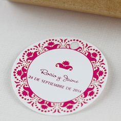 Etiquetas Boda. Wedding tags