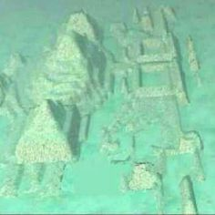 Two Scientists found The Lost city of Atlantis today in the Bermuda Triangle. Very cool.