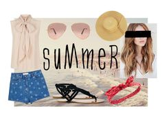 """Summer"" by the-baguette on Polyvore featuring MaxMara, Valentino, Sole Society, Ray-Ban, Charlotte Russe, summerstyle, summer2016 and summeroutdoordining"