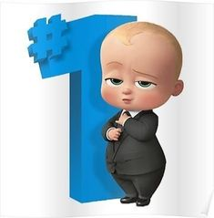 Can't get over the cutness of The Boss Baby movie? Check out this amazing the Boss Baby poster collection. Baby Boy 1st Birthday Party, Birthday Pinata, Happy Birthday Boss, Baby Motiv, Baby Posters, Boss Baby, Cute Cartoon Wallpapers, Disney, Crepe Paper