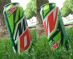 Designs on Mountain Dew 24 oz Can