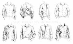 와이셔츠, clothes, button up men's shirts reference