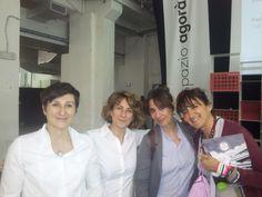 Franca Roiatti, Paola Musile Tanzi, Paola Maugeri e Daniela Delle Donne a Futuro Alimentare