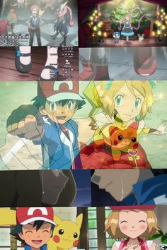 Amourshipping collage I made. These two are so alike!