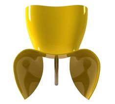 CAPPELLINI Felt chair by Marc Newson