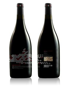 Special Edition Portuguese brand of wine. Very modern.