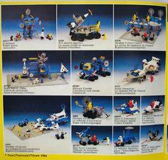 Classic space Lego