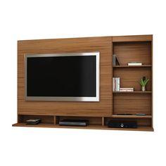 Painel Para Tv Lumiére 133296 Jacarandá Benetil Moveis