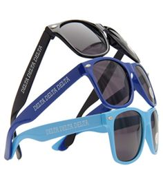 Delta Shop - Malibu Sunglasses - available in black, royal, or light blue.  NOW $5 each!