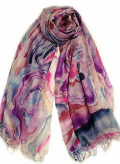 Genuie Women's Dream Silk Scarf 98 x185 cm Multicolored Genuie,http://www.amazon.com/dp/B00EQGIE7A/ref=cm_sw_r_pi_dp_JlWBtb1Y6B3RZXRA