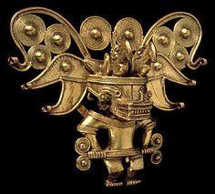 Chibchas y Arawak Ancient Artefacts, Ancient Civilizations, Colombian Art, Hispanic Art, South American Art, Mesoamerican, Masks Art, Ancient Jewelry, Religious Art