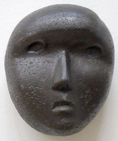 'Mask', cast concrete sculpture by Henry Moore, 1929 Sculpture Head, Concrete Sculpture, Modern Sculpture, Abstract Sculpture, Garden Sculpture, Maya Art, Henry Moore Sculptures, Art Premier, Stone Carving