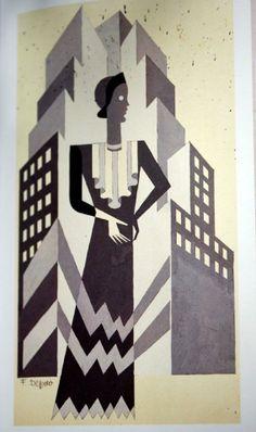 depero-New York woman