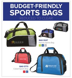 Sports Bags | Budget Friendly