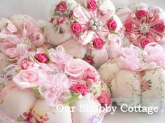 pin cushions from website 'our shabby cottage'