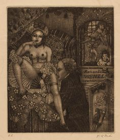 Art-exlibris.net - exlibris by Patricia Nik-Dad for Robert Wenzl