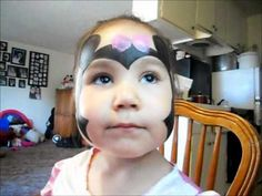 Schminken: MINNIE MOUSE FACE PAINTING TUTORIAL