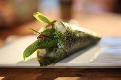 Temaki sushi. Autor: Pablo Chinen - Narda Lepes. Lo de Narda. Utilísima.