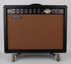 One of the greatest amps of all time - wish mine looked this nice. Mesa Dual Rectifier Tremoverb Combo 2x12 Guitar Amp
