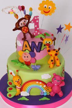 Baby TV - Cake by Viorica Dinu