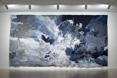 Art review: Jim Hodges takes sting out of contemporary art | Untitled, made of denim and thread