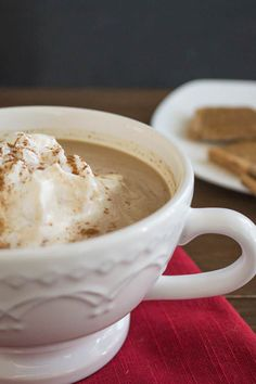Upgrade your latte with cookie butter.