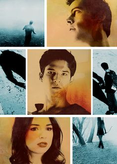 Teen Wolf. Allison, Stiles, & Scott