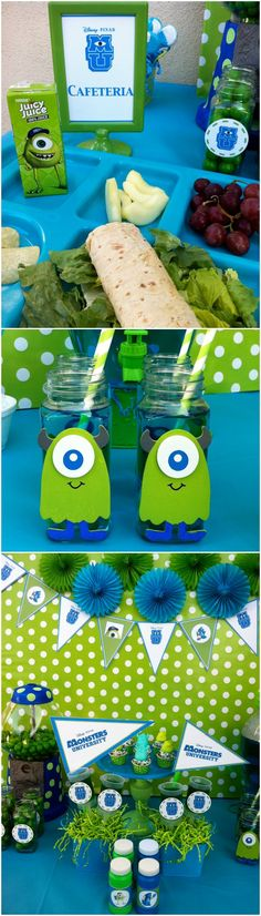 Monsters University party ideas! <3