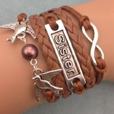 Infinity Sister brown pearl