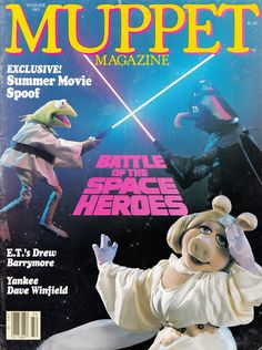 Star Wars Reimagined as a Muppets Comic: A 1983 Mashup | Brain Pickings