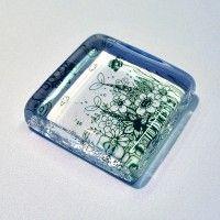 Psychertペーパーウェイト正方形 《遊び野原》 | Psychert -Tamami Nagamine- | Jamaru [ジャマル]
