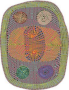 Moooi Carpets Magic Marker Wild vloerkleed by Bert Jan Pot