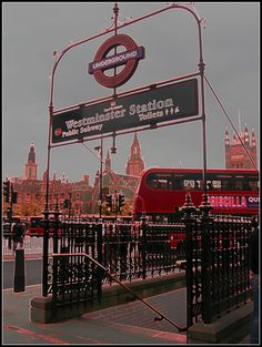 Westminster Station Tube Underground