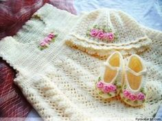 Dresses - Crochet Patterns for Baby by Redson105