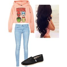 """Teen Outfit #100"" by kaelarabbit on Polyvore"