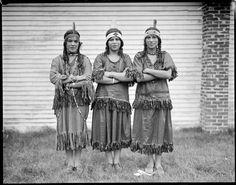 Mashpee Women. Cape Cod. 1929. Photo By Leslie Jones.