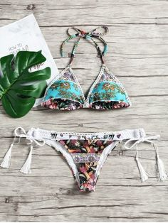GET $50 NOW | Join RoseGal: Get YOUR $50 NOW!https://www.rosegal.com/bikinis/low-waist-floral-tassel-bikini-set-1999514.html?seid=4514413rg1999514