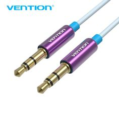 6bfe04908611 Vention AUX Cable 3.5mm Audio Cable 3.5 Jack Male to Male For Car iPhone 8