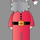 Super cute Santa...FREEBIE!