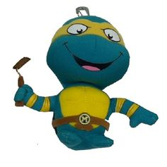 This TMNT plush keychain sports a party dude! (PARTY!!) #WhySchoolRules